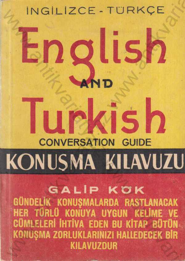 Galip Kök - English and Turkish conversation guide