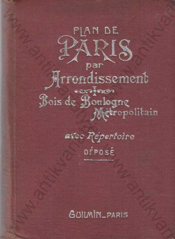- Plan de Paris par Arrondissement