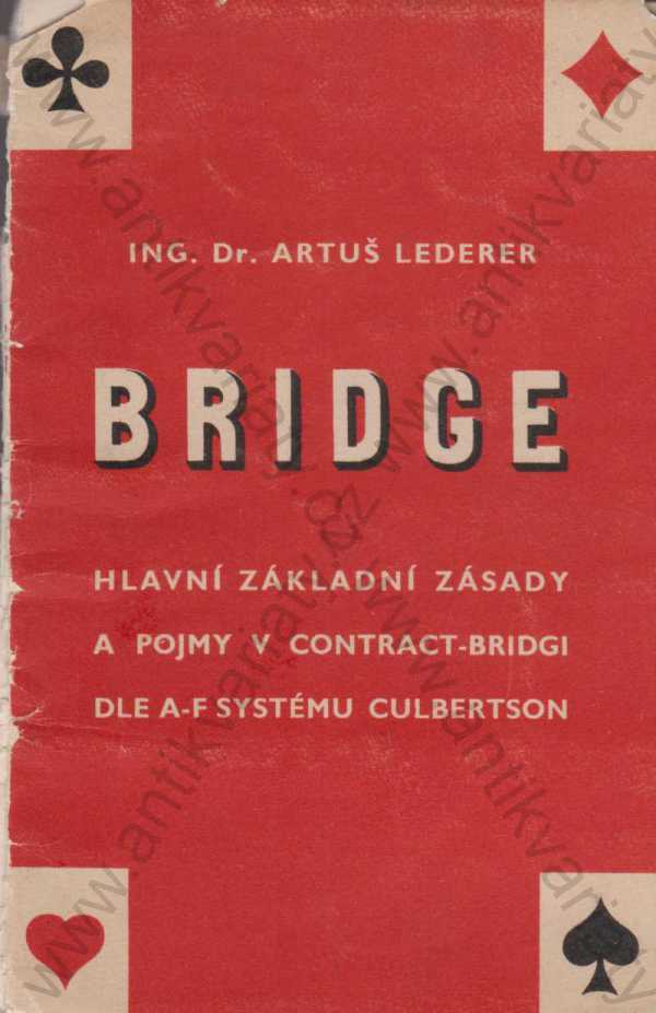 Artuš Lederer - Bridge