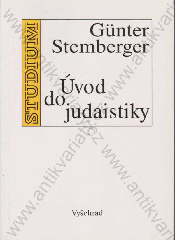 Günter Stemberger - Úvod do judaistiky