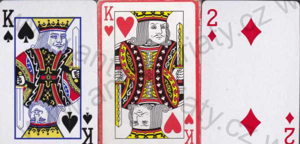 - Playing Cards (hrací karty)