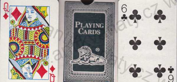 - Lion Playing Cards 77
