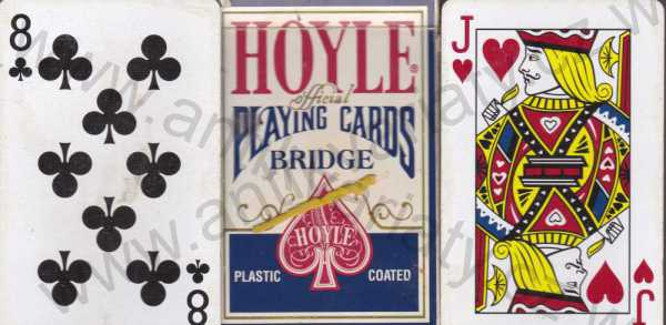 - Hoyle official playing cards Bridge
