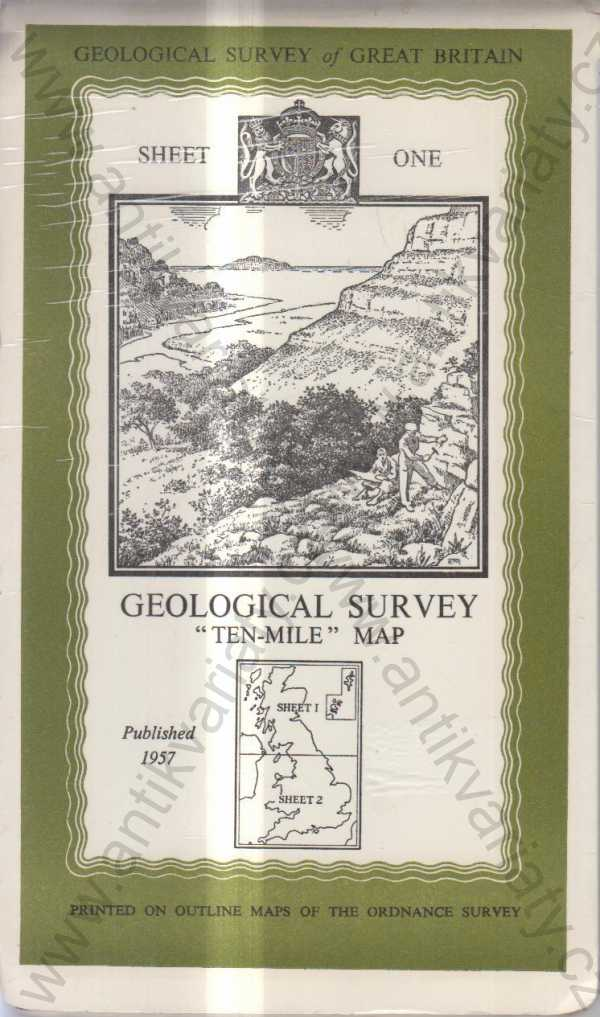 - Geological Survey of Gret Britain Ten - Mile Map