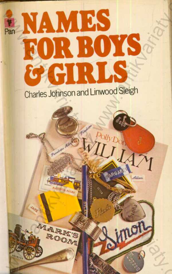 Ch. Johnson, L. Sleigh - Names for boys and girls