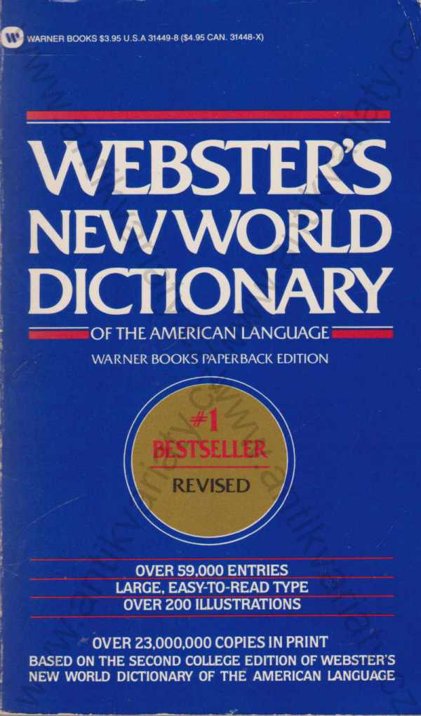 David B. Guralnik - Webster´s New World dictionary of the American Language