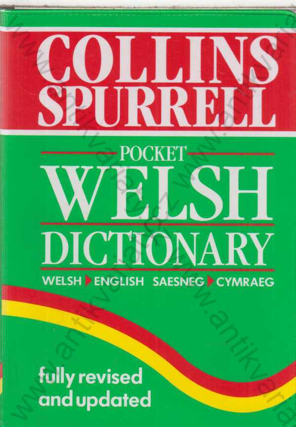 - The Collins Spurrell Welsh Dictionary