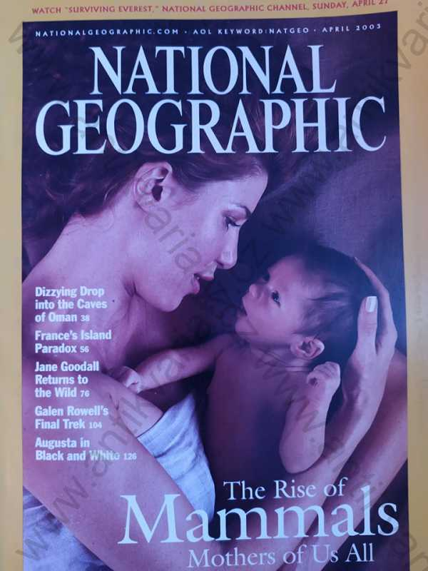 - National Geographic - April 2003