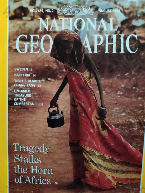 - National Geographic - August 1993, Vol. 184, No. 2