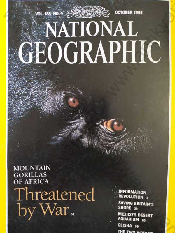 - National Geographic - October 1995, Vol.  188, No. 4