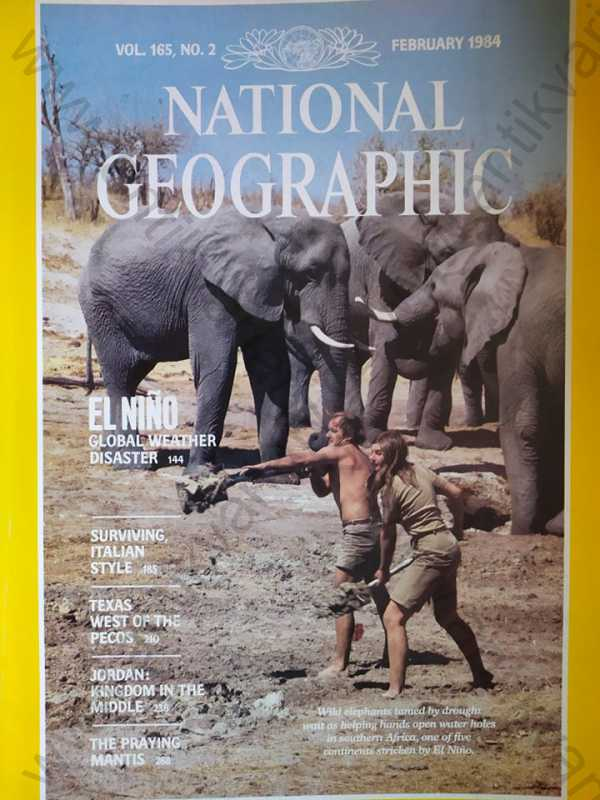 - National Geographic - February 1984 Vol.165 No. 2