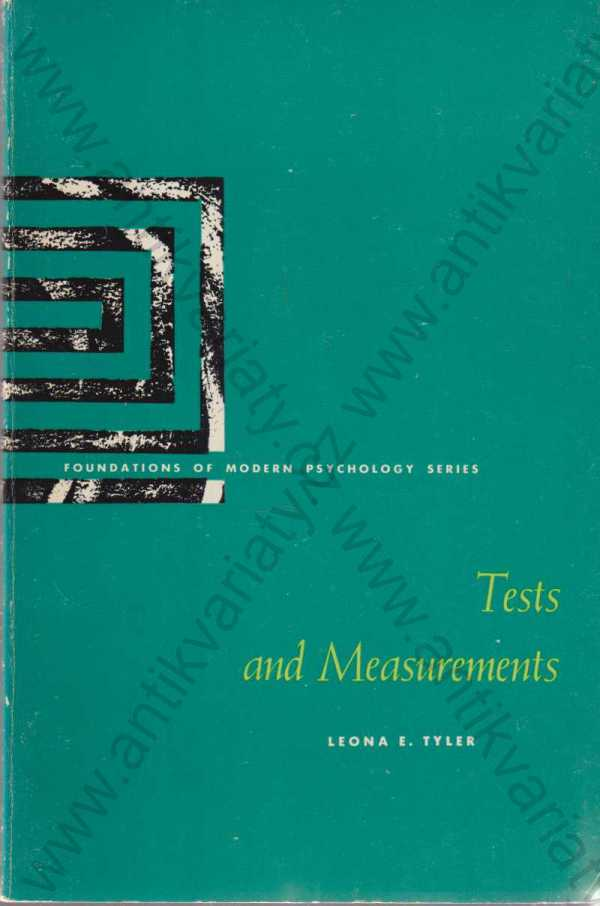 Leona E. Tyler - Tests and Measurements