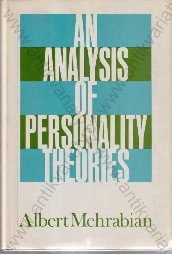 Albert Mehrabian - An Analysis of Personality Theories