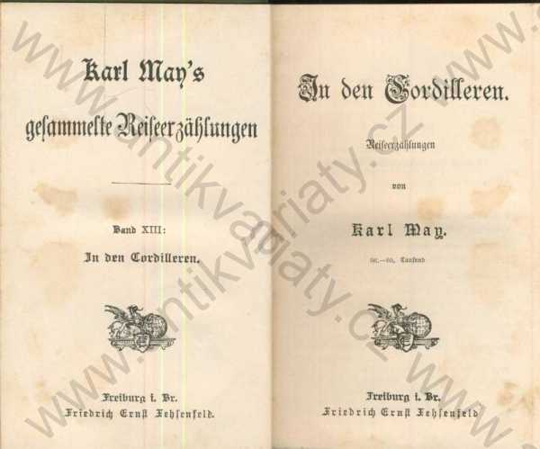 Karl May - In den Cordilleren